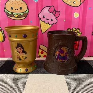 Beauty and the Beast Cups from Disney World